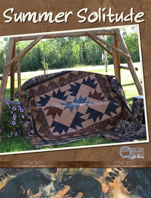 Summer Solitude Quilt Pattern