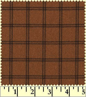 Maywood Flannel Woolies F18127 O Double Windowpane