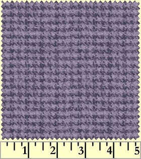 Maywood Flannel Woolies F18503 V Houndstooth