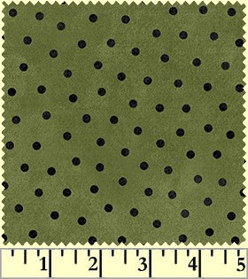 Maywood Flannel Woolies F18506 G Polka Dots
