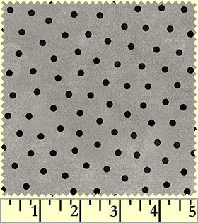 Maywood Flannel Woolies F18506 K Polka Dots