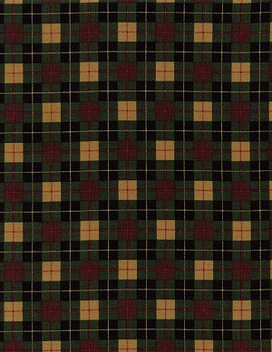 Plaid Mini C1722 Pine, Timeless Treasures