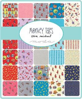 Monkey Tales Layer Cake, Erin Michaels by Moda