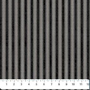 Mountain Lodge Flannel F20573 93 Stripe Grey, Northcott