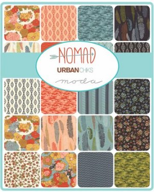 Nomad Charm Pack,  Urban Chiks by Moda