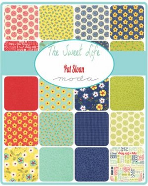 The Sweet Life Charm Pack, Pat Sloan by Moda