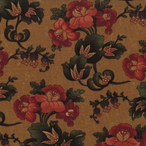 Token of Friendship 9430 12 Gold Floral Gathered Blooms, Kansas Troubles Moda