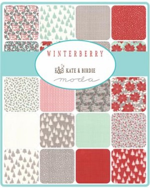 Winterberry Charm Pack, Kate and Birdie by Moda