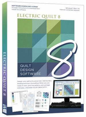 Electric Quilt EQ8 Quilt Design Software