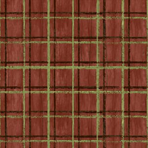 Among The Pines 82406 279W Plaid Brown, Wilmington
