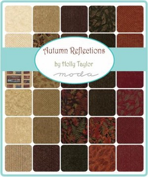 Autumn Reflections Charm Pack, Holly Taylor by Moda