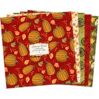 "Autumn Road 10"" Mini Layer Cake, Wilmington Prints"