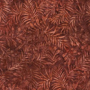 Natures Lodge Batiks B7780 Rust, Timeless Treasures