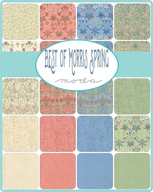 Best of Morris Spring Charm Pack Moda
