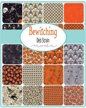Bewitching Charm Pack, Deb Strain by Moda