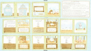 Cotton Tale Farm C5819 Book Panel, Timeless Treasures