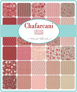 Chafarcani Jelly Roll, French General by Moda