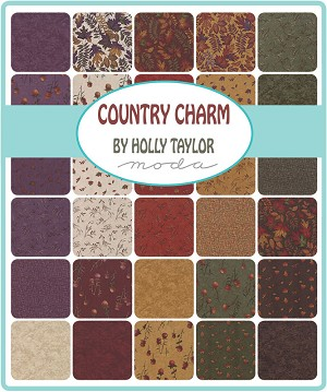 Country Charm Jelly Roll, Holly Taylor by Moda