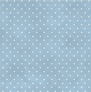 Wild Rose Flannel Basic 609 B2 Light Blue Dots, Maywood Studio