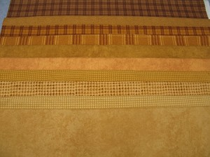 Fat 10 Your Stash Maywood Woolies Flannel Brown Tan Fat Quarter Bundle