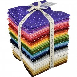 Beautiful Basics Classic Dot Fat Quarter Collection, Maywood Studio