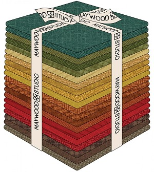 Maywood Flannel Woolies Fat Quarter Bundle Desert Sunset
