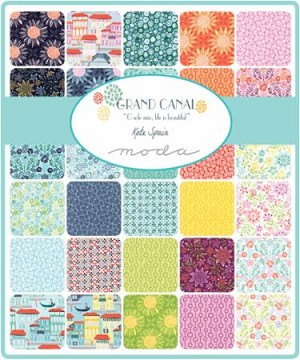 Grand Canal Jelly Roll, Kate Spain by Moda