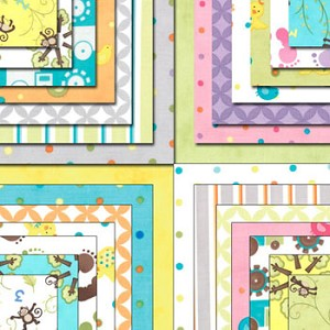 Grow with Me Charm Pack Assorted by Moda