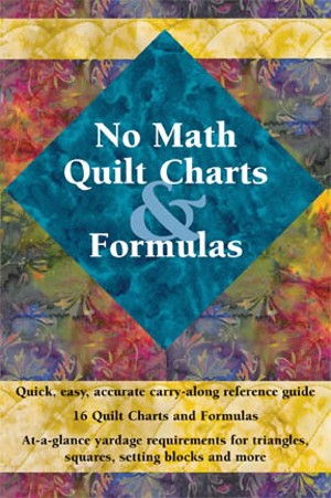 No Math Quilt Charts and Formulas Mini Book