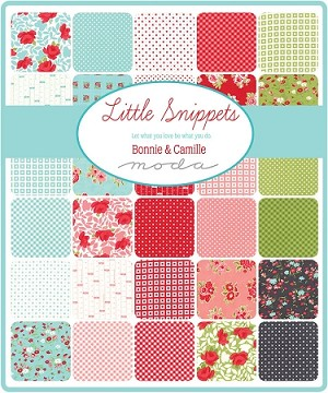 Little Snippets Layer Cake, Bonnie & Camille by Moda