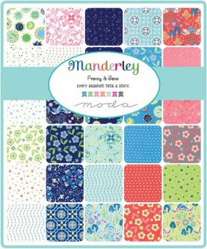 Manderley Charm Pack, Franny and Jane by Moda