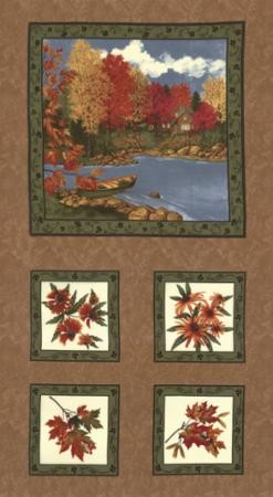 Maple Island 6610 16 Panel, Holly Taylor by Moda