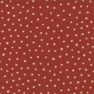 Merry Medley 17668 24 Snow Berry Red, Sandy Gervais by Moda