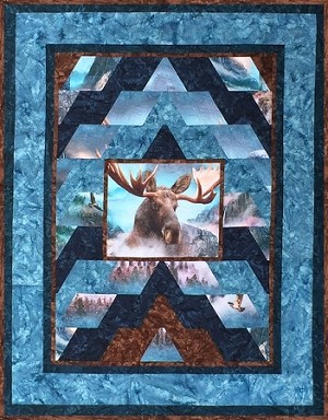 Moose On The Mountain Call Of The Wild Hoffman Digital