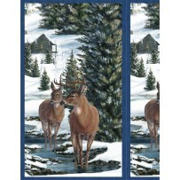 Winter Stillness Flannel 8376 471 Panel, Wilmington Prints