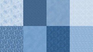 Spectrum Fat Quarter Panel Q4481 65 Denim, Hoffman