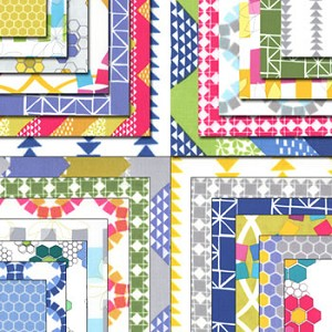 Quilt Blocks Layer Cake Ellen Baker by Moda