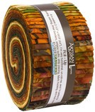 Cornucopia 9 Batik Forest Jelly Roll, Artisan Batiks by Robert Kaufman