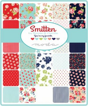 Smitten Charm Pack, Bonnie and Camille by Moda