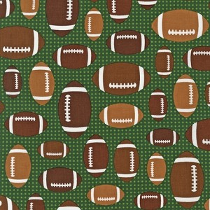 Sports Life II 13967 7 Footballs Green, Kaufman