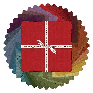 Maywood Flannel Woolies 10 Inch Square Layer Cake Vol 2