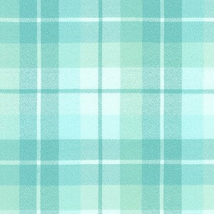 Mammoth Organic Flannel 20086 70 Aqua Plaid Robert Kaufman