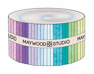 Shadowplay Flannel Strips Welcome Colors, Maywood Studio