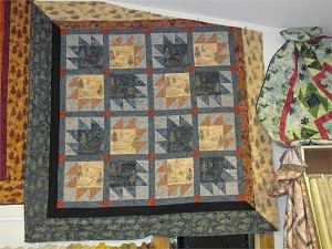 Grey Tan MN Back Tracks Quilt Kit