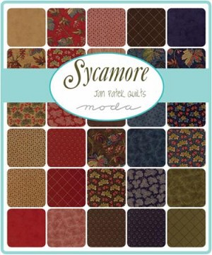 Sycamore Charm Pack, Jane Patek by Moda