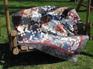 Town Square Fiddlestick Quilt Kit, Holly Taylor by Moda, Antler ... : taylor creek quilt studio - Adamdwight.com