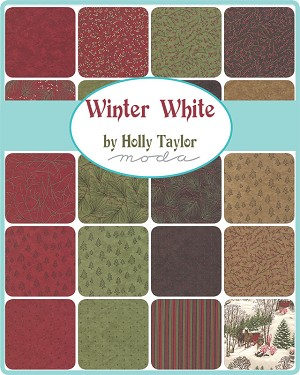 Winter White Layer Cake, Holly Taylor by Moda