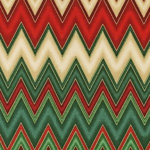 Winters Grandeur 2 14588 223 Holiday Chevrons, Kaufman