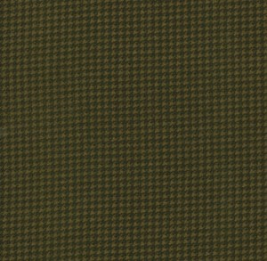 Wool Needle Flannel 1052 13F Stone Houndstooth, Primitive Gatherings by Moda