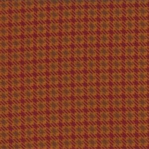 Wool Needle Flannel II 1090 16F Squash Loden Plaid, Primitive Gatherings by